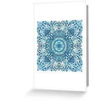 - Frosty pattern - Greeting Card