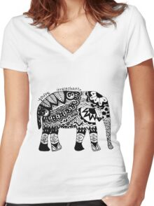You're Irrelephant Women's Fitted V-Neck T-Shirt