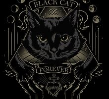 Black Cat Cult by JollyNihilist