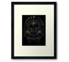 Black Cat Cult Framed Print