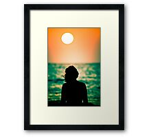 Remember Paradise? Framed Print