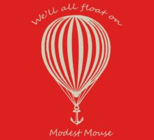 Modest Mouse Float on With Balloon One Piece - Short Sleeve