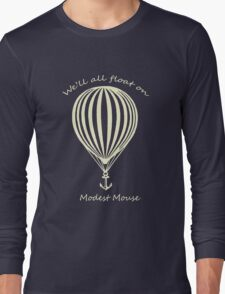 Modest Mouse Float on With Balloon Long Sleeve T-Shirt