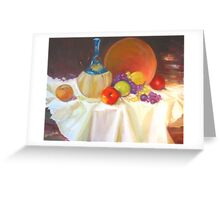 Fruit and Vine Greeting Card
