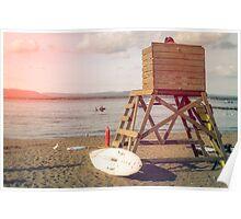 Beach Tower Poster