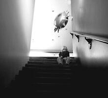 A Boy Stairing by Belinda Stewart