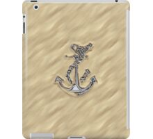 Chrome Anchor in Sand iPad Case/Skin