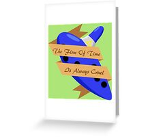 The Legend of Zelda (The Flow of Time is Always Cruel) Greeting Card