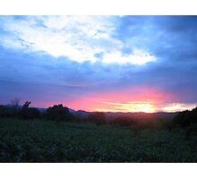 sunset-Malawi Photographic Print