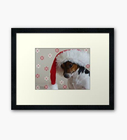 Have a Bonnie Christmas Framed Print