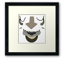 Appa - The Last Airbender (white) Framed Print