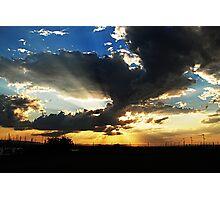 Sunset... Photographic Print