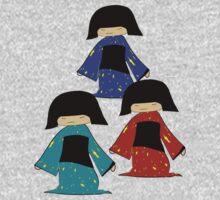 3 Japanese Girls by SaMack