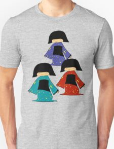 3 Japanese Girls Unisex T-Shirt