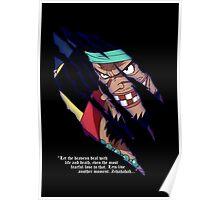 Blackbeard a.k.a. Marshall d Teach Poster