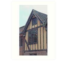 York's Merchant Adventurers' Hall Art Print