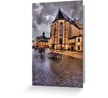Shiny Cobbles Greeting Card