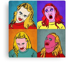 Miranda Sings Warhol Canvas Print