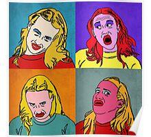Miranda Sings Warhol Poster