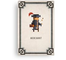 Pixel RPG - Merchant Canvas Print