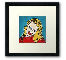 Miranda Sings Warhol 1 Framed Print