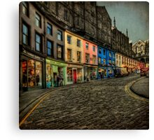 Dream Street Canvas Print