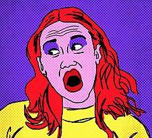 Miranda Sings Warhol 2 by mikebone