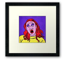 Miranda Sings Warhol 2 Framed Print