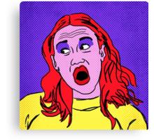 Miranda Sings Warhol 2 Canvas Print