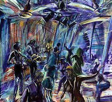 Pre Muster Party at Joe's Waterhole  by tola