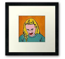 Miranda Sings Warhol 3 Framed Print