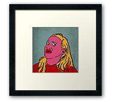 Miranda Sings Warhol 4 Framed Print