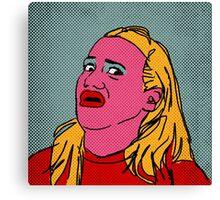 Miranda Sings Warhol 4 Canvas Print