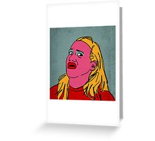 Miranda Sings Warhol 4 Greeting Card