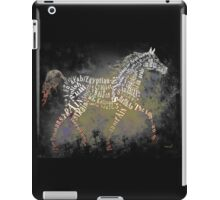 Arabian Beauty in Typography iPad Case/Skin