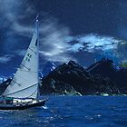 Sailing the Sea of Tranquility by AlienVisitor