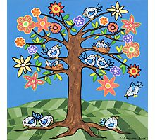'Birdie Tree' - Inspired by Spring Photographic Print