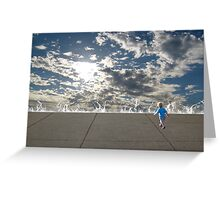 My Journey Has Just Begun Greeting Card