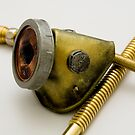 Steampunk Gas Mask by Jon Burke