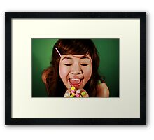 Hey Sugar Sugar!!! Framed Print