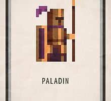 Pixel RPG - Paladin by Andrew Choo