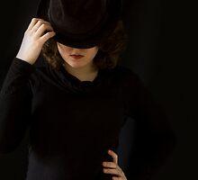 Female spy. by Nina Elise Vossen