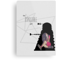 The Impossible Girl, Oswin Oswald - Doctor Who | #InfiniteTARDISMerch Metal Print