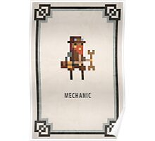 Pixel RPG - Mechanic Poster
