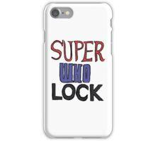 superwholock iPhone Case/Skin