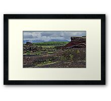 Colourful Icelandic Landscape Framed Print