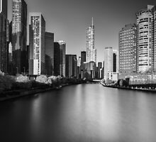 Chicago ... again (b&w) by zl-photography