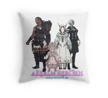 Leaders of Eorzea - Final Fantasy XIV: A Realm Reborn Throw Pillow