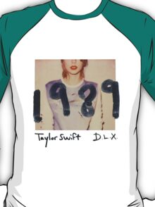 1989 deluxe album cover T-Shirt