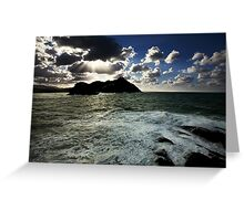 Ocean and Earth Greeting Card